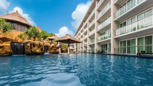 Lagoon Pool Bar | The Sakala Resort Bali