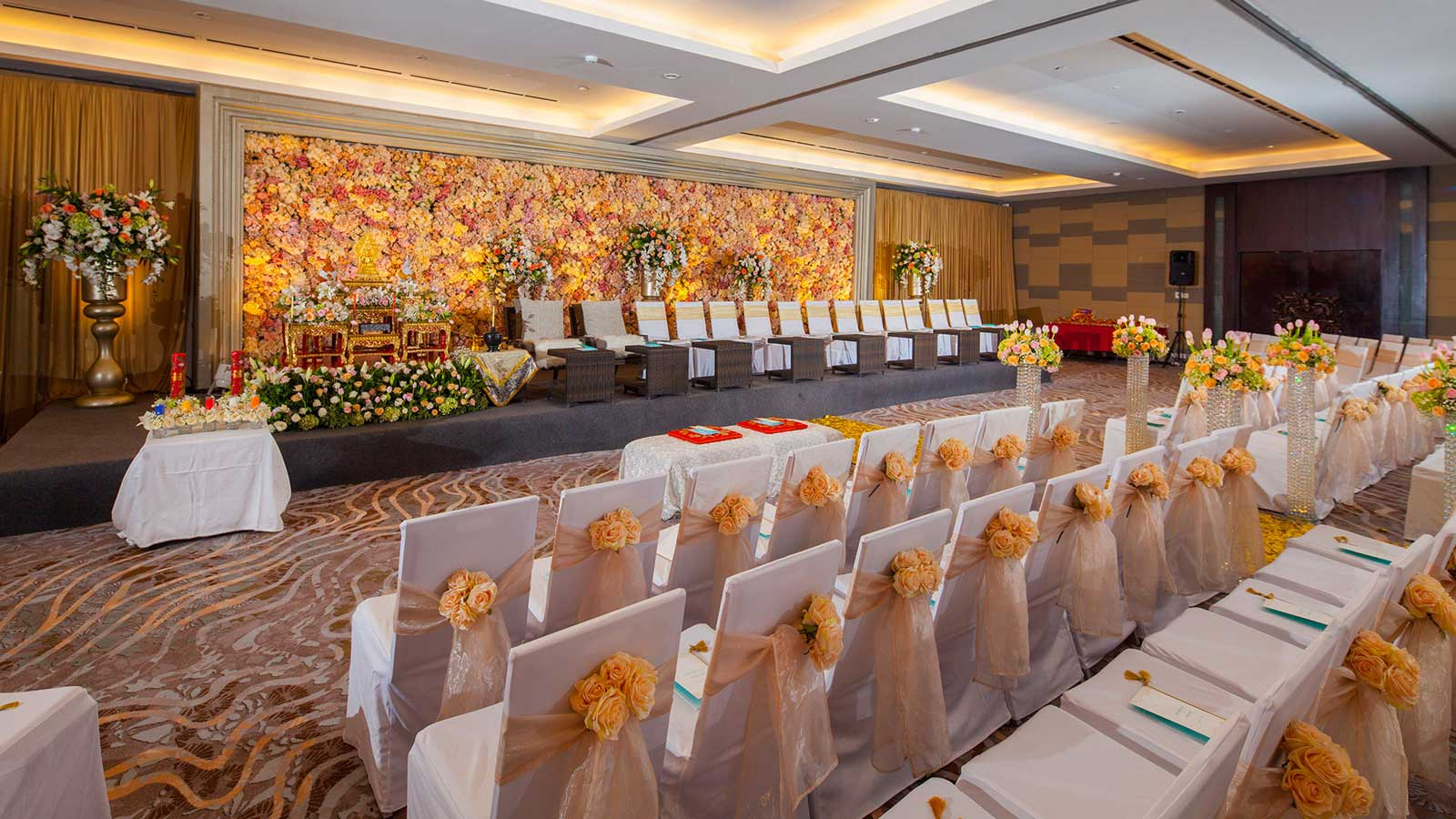 Indoor Bali wedding venues in Tanjung Benoa - Nusa Dua | The Sakala Ballroom