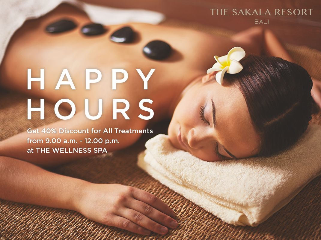Happy Hours at The Wellness Spa