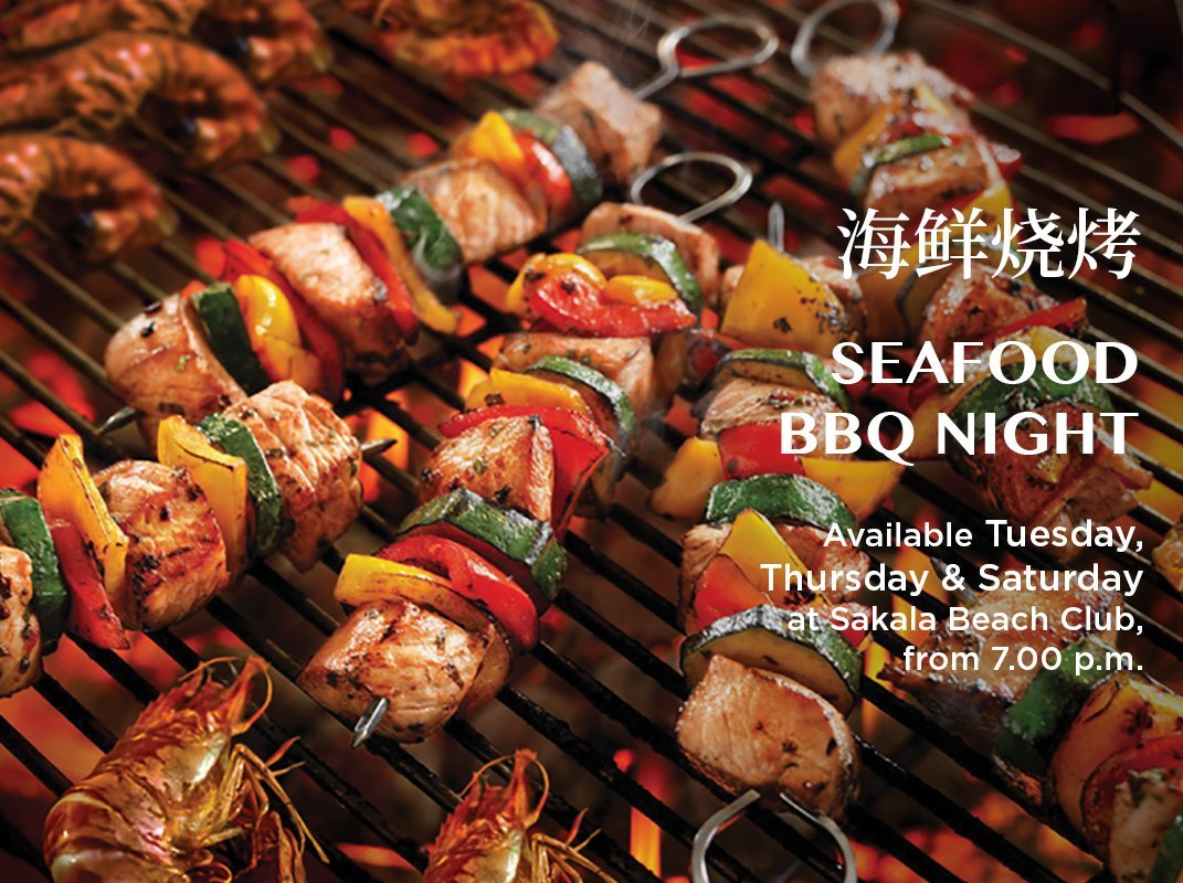 Seafood Barbeque Night